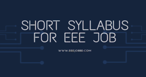 Best EEE Job Preparation Syllabus